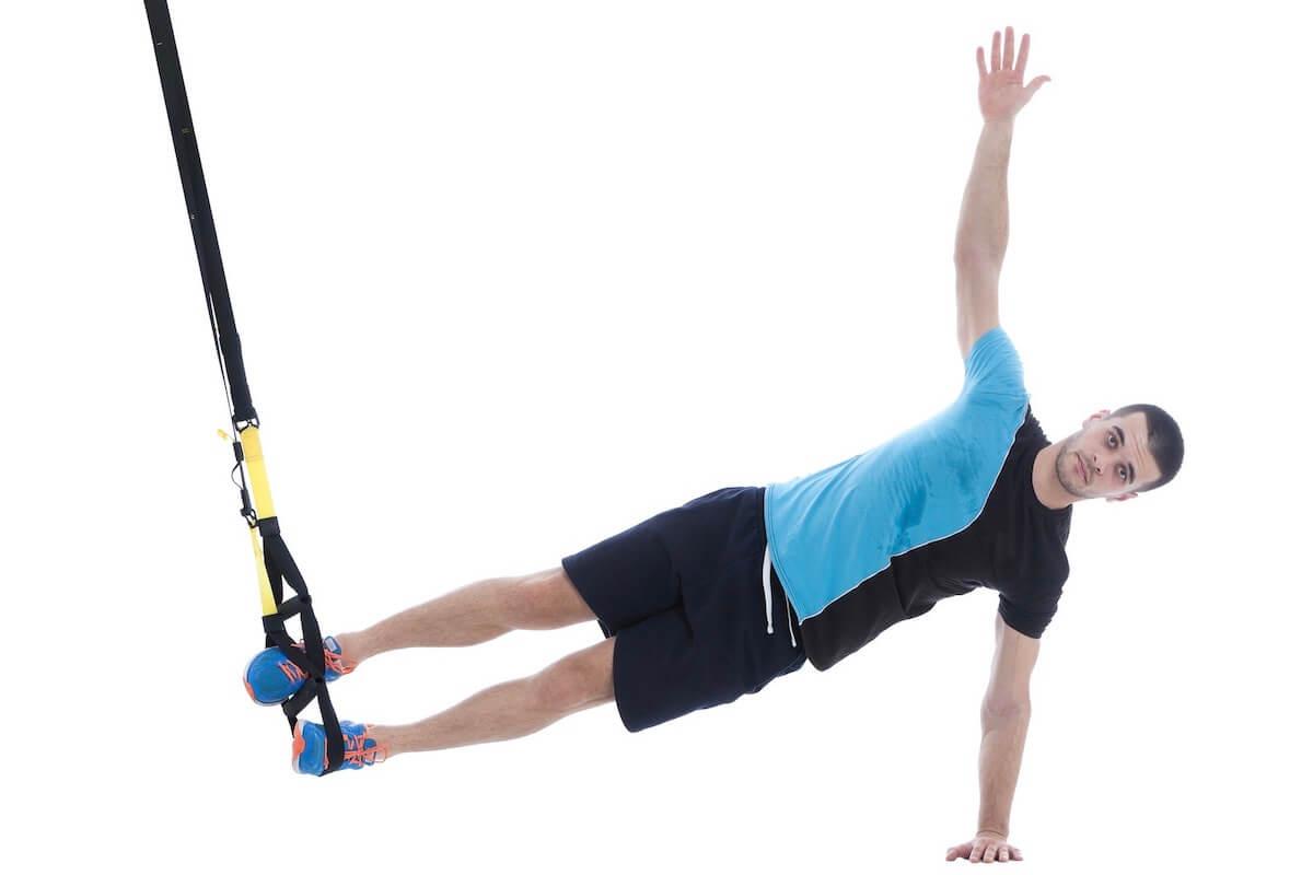 Training für die seitliche Bauchmuskulatur