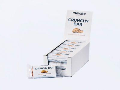 crunchy cookie protein bar